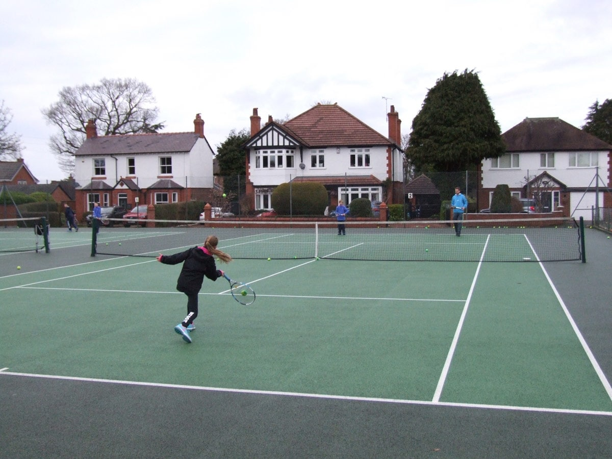 Tennis lessons in Chester